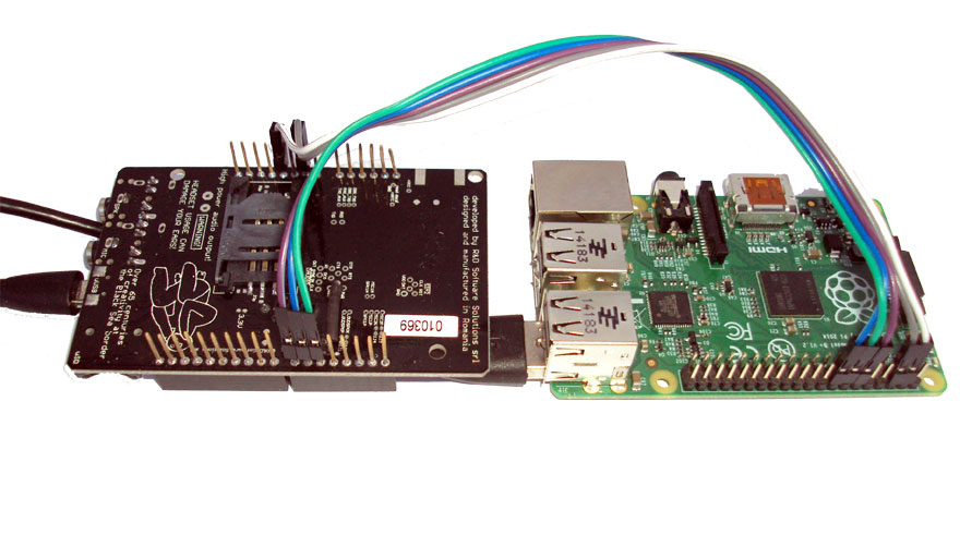 RaspberryPI and a-gsm shield USB logical wiring