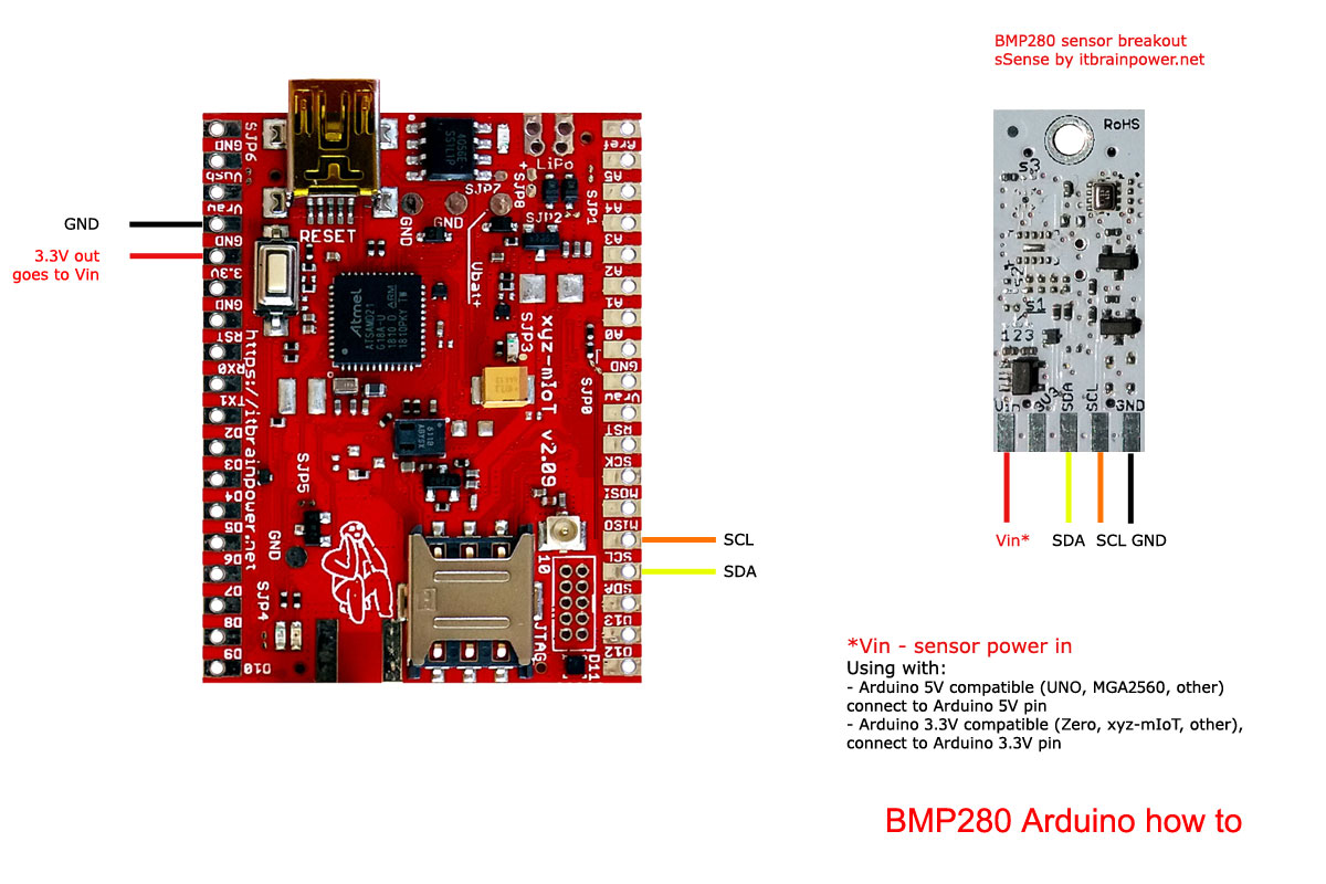 Arduino BMP280 how to