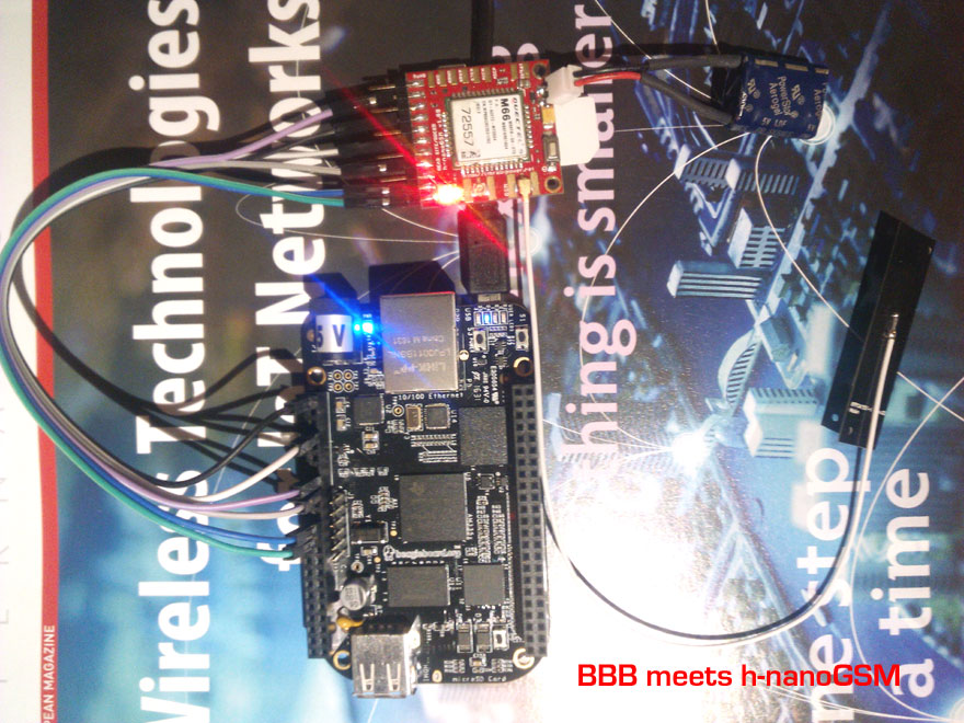 BeagleBone Black GSM wiring