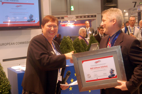 European Award given to R&D Software Solutions