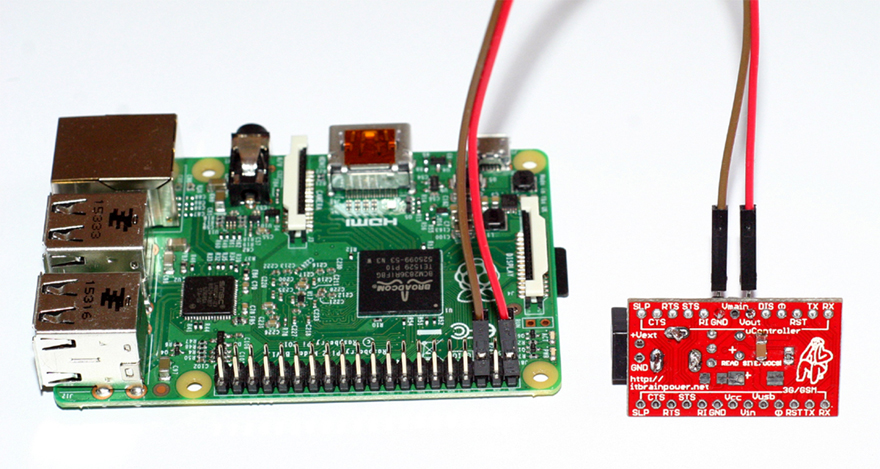Raspberry PI SWITCHING POWER SUPPLY WIRED