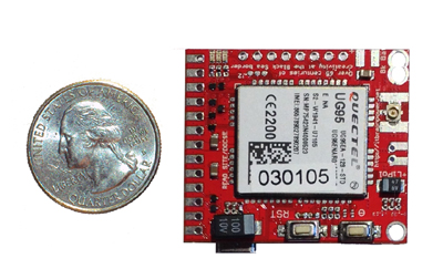 micro 3G module for drones wearables-Raspberry PI and Arduino : d-u3G shield/module