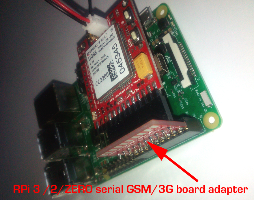 NOOBS[RASPBIAN] SERIAL /dev/ttyAMA0 REMAPPING RASPBERRY PI3 / 2 / ZERO GSM/3G SERIAL MODEM with HAT BOARD ADAPTER